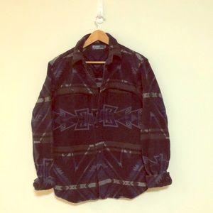 Polo southwestern print jacket